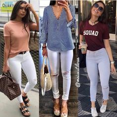 Casual Outfits For Girls, Cute Swag Outfits, Indie Outfits, Chill Outfits, Simple Outfits, Look Fashion, Girl Fashion, Fashion Outfits, Looks Chic