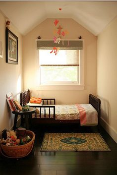 the most of a small space - master bedroom walkin (aka the ensuite~ use curtain rod divider?)