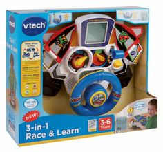 Amazon.com: VTech 3-in-1 Race and Learn Toy: Toys & Games