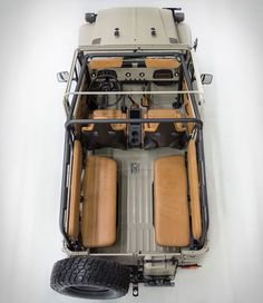 """Our friends from FJ Company have just reached out to us with news on their latest Land Cruiser FJ40 restoration, and boy does it look good. Their latest masterpiece is this beautiful 1981 Land Cruiser FJ43. Named Signature"""", this stunning build was"""