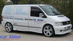 Αποτέλεσμα εικόνας για mercedes vito w638 body kit Mercedes Vito, Mercedes Benz, Alloy Wheel, Vans, Van