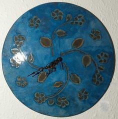 ... circular wall clock. Handmade in England by John Fraser of Art Clocks