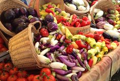 Each week, the Santa Barbara Farmers Market displays a variety of fresh produce from community farmers