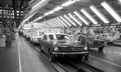 Ford Classic Mustang start of production March 9, 1964 Dearborn Michigan