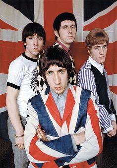 Band No.5 The Who→E-MUTE #TheWho #Music  #bands  #influence  #rockbands  #inspiration  #rock  #emutemusic  #bandsthatleadtoemutemusic