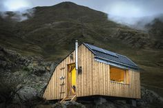 _dsc4951-copy Eco Architecture, Shed, Outdoor Structures, Cabin, House Styles, Building, Mountain, Art, Home Decor