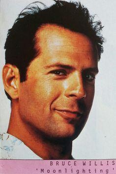 Bruce Willis in the 1988 TV hit series 'Moonlighting'