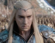 """Thorin's defiance, and his refusal to compensate Bard, were most likely behind Thranduil's willingness to take Military Action.  """"Long will I tarry ere I begin this War for Gold""""...(Or a necklace?)"""