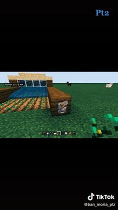 Minecraft Farm, Easy Minecraft Houses, Minecraft House Tutorials, Minecraft Plans, Minecraft Videos, Amazing Minecraft, Minecraft Construction, Minecraft Tutorial, Minecraft Blueprints