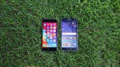 Updated: Samsung Galaxy S6 vs iPhone 6