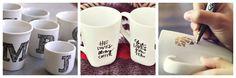 DIY Coffee Mug Design ~ sweet idea for teachers gifts!