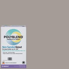 Custom Building Products Polyblend #542 Graystone 10 lb. Non-Sanded Grout