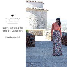 ¡Entra en www.claroconcepto.com y sorpréndete con nuestra colección de Otoño/ invierno!