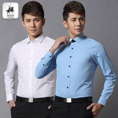 Find More Casual Shirts Information about 2014 Limited Real Solid Regular Single Breasted Cotton Autumn Decoration Body Sleeved Shirt Mens Long Thin Young Korean Inch,High Quality Casual Shirts from RAINBOW HALL on Aliexpress.com