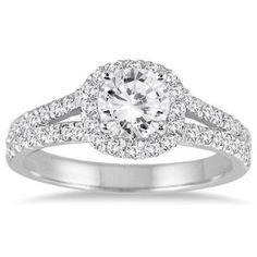 https://ariani-shop.com/1-1-4-carat-white-diamond-engagement-ring-in-14k-white-gold 1 1/4 Carat White Diamond Engagement Ring in 14K White Gold