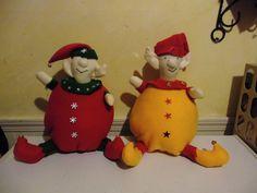 My little elves I made for Christmas