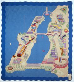 164 best Map quilts images on Pinterest in 2018 | Map quilt, Map art ...
