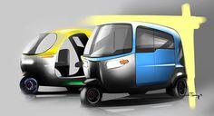 Moto Car, Drawing Sketches, Drawings, 3rd Wheel, Automotive Design, Custom Bikes, Digital, Industrial Design, Electric