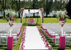 "Pinned from ""Customize Your Wedding Aisle Runner"""