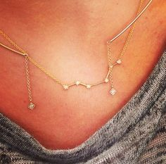 Star Gazers #stars #collar #layer #bigdipper #ROSEARK