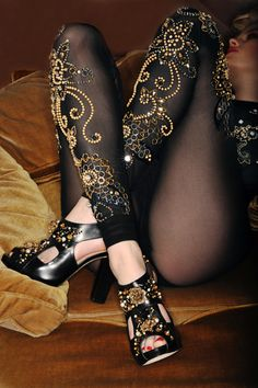 be baroque  I like the embellishedntights (panty hose) :-)