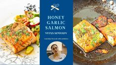 Honey Garlic Salmon - Skillet Salmon with Honey, Garlic, and Lemon