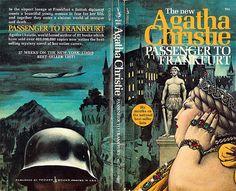Passenger To Frankfurt (Pocket 77434) 1972 AUTHOR: Agatha Christie ARTIST: Tom Adams by Hang Fire Books, via Flickr