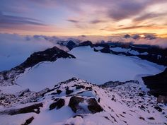 Sunset on the Top of Norway, Jotunheimen, Norway