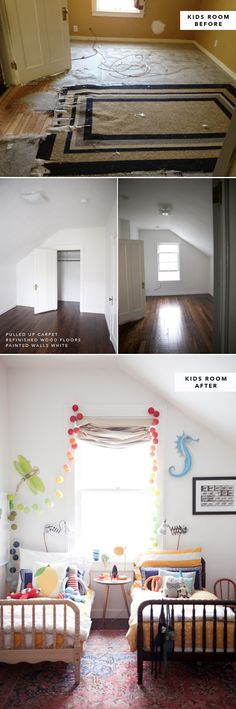 The Before and After's of our 500 Sq Ft Apartment | Oh Happy Day!