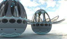 Les maisons flottantes du futur | Immobilier | CASA