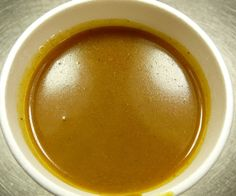 Curry Sauce. Healthy and tasty.  1 packet of curry, half cup of milk, onion, 2 cloves of garlic, a little butter, cup of broth, tablespoon of flour. Bon appetit!