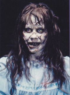"Linda Blair in ""The Exorcist""  (1973)"
