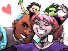 Teen Titans / Jovens Titãs /Jinx