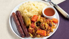 How to cook moroccan couscous with merguez: Great step-by-step video with chef Meny Vaknin!
