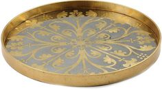 Notre Monde Moroccan Detail Tray - Gold