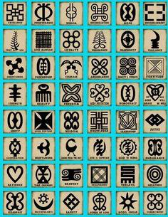 Les symboles africains de l\\\'Egypte sont bien connus, mais il est maintenant temps de découvrir plusieurs symboles africains spécialement de l\\\'Afrique de l\\\'Ouest, appelé Adinkra .Adinkra sont des symboles visuels, créés à l\\\'origine par l\\\'Ashanti du Ghana et le Gyaman de la Côte d\\\'Ivoire en Afrique de l\\\'Ouest. Ils représentent ...
