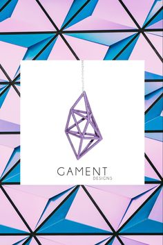 Inspired by Geometry and architecture our prism pendant will be a new gem in your collection. all our pendants come on a sterling silver chain and our lightweight prints make for easy comfortable wearing. 3d Printed Jewelry, Colour Board, Order Prints, Sterling Silver Chains, Geometry, Jewelry Collection, 3d Printing, Fashion Accessories, Inspired