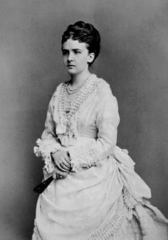 Her Royal Highness Princess Friedrich Karl of Prussia (1837-1906) née Her Serene Highness Princess Marianne of Anhalt-Dessau. Princess Marianne's life was hellish with her brute of a husband. While she was still on the delivery bed after giving birth to her third daughter, he punched poor Marianne's ears so hard she lost hearing in one of them just because she didn't have a boy. He was a violent, misogynist drunkard.