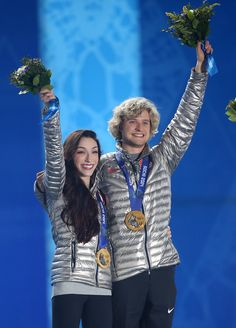 Gold Medalist Ice Dancers Meryl Davis Charlie White - Sochi Olympic Winners…
