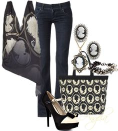 """""""Cameo Appearance"""" by angela-l-s on Polyvore"""
