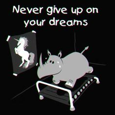 #never #give #up on your #dreams
