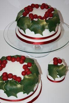 Bolos de Frutas de Natal
