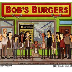 Walking Dead a la Bob's Burgers