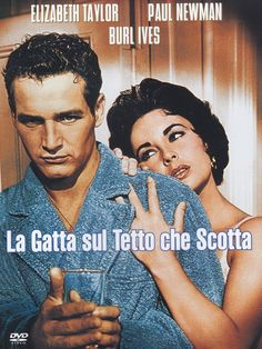 La Gatta Sul Tetto Che Scotta: Amazon.it: Elizabeth Taylor, Paul Newman, Burl Ives, Jack Carson, Judith Anderson, Madeleine Sherwood, Larry Gates, Vaughn Taylor, Zelda Cleaver, Brian Corcoran, Hugh Corcoran, Patty Ann Gerrity, Bobby Johnson, Walter Merrill, Deborah Miller, Robert 'Rusty' Stevens, Vince Townsend, Jeane Wood, Richard Brooks, James Poe: Film e TV