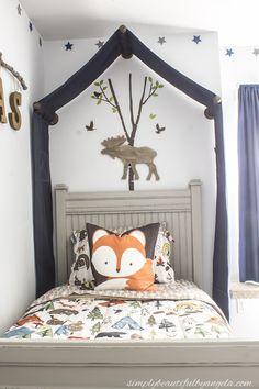 Simply Beautiful By Angela: Woodland Big Boy Room