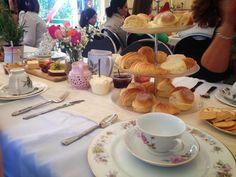 High tea with scones!!