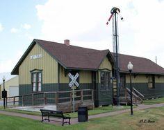 Old Train Station Katy Texas
