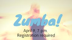 Zumba is back! Join Dana Trampas at our free Zumba fitness party. Wear comfortable clothes and bring a water bottle. Attendees must sign a waiver to participate; those under 18 will need the signature of a parent or guardian. Registration is required.