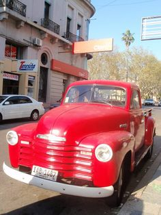 Uruguay There are many old cars running in good conditon.