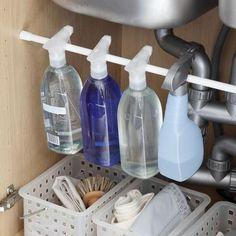 Factorela: Organizando el bajo fregadero...